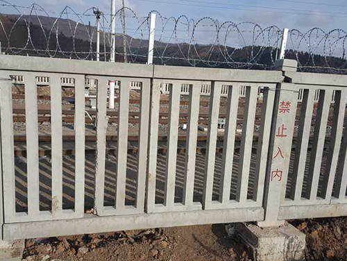 佳木斯路基栅栏